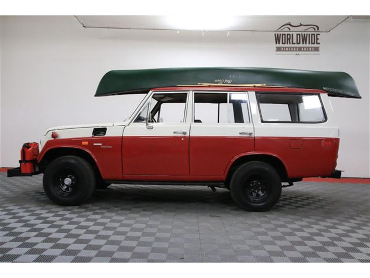 Large Picture of Classic '72 Toyota Land Cruiser FJ located in Denver  Colorado Offered by Worldwide Vintage Autos - M6TR