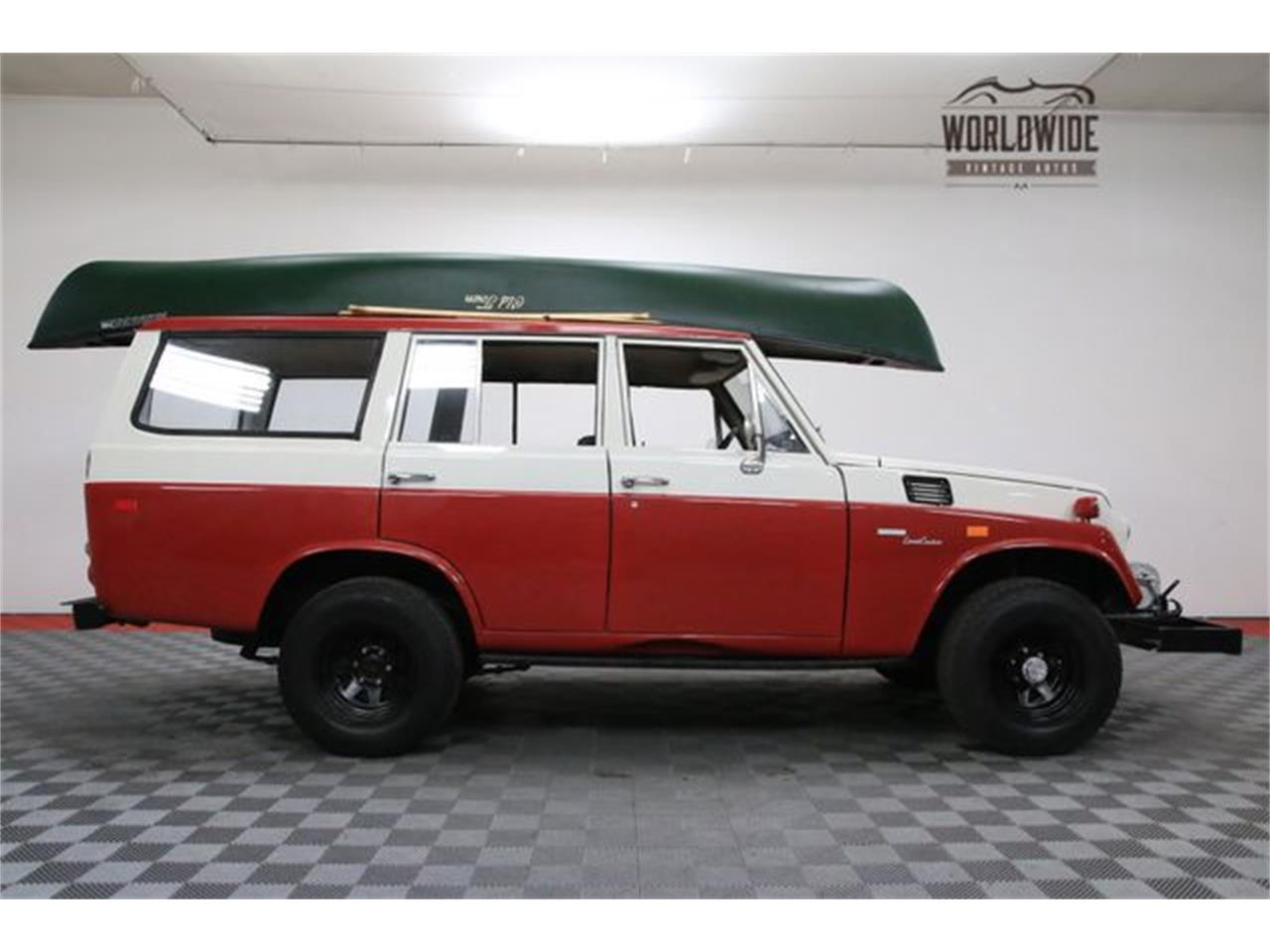 Large Picture of Classic 1972 Land Cruiser FJ located in Denver  Colorado Offered by Worldwide Vintage Autos - M6TR
