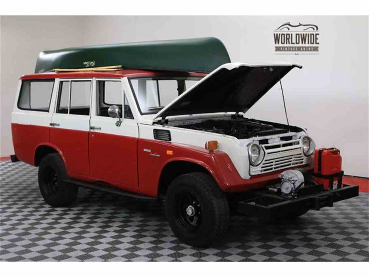 Large Picture of 1972 Land Cruiser FJ located in Denver  Colorado - $17,900.00 Offered by Worldwide Vintage Autos - M6TR
