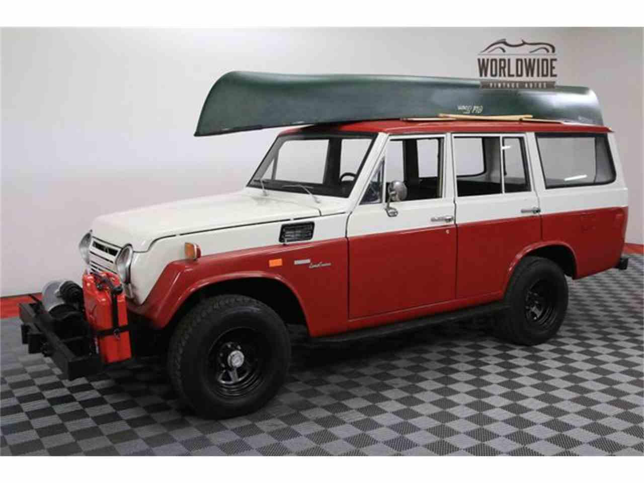 Large Picture of 1972 Land Cruiser FJ located in Colorado Offered by Worldwide Vintage Autos - M6TR