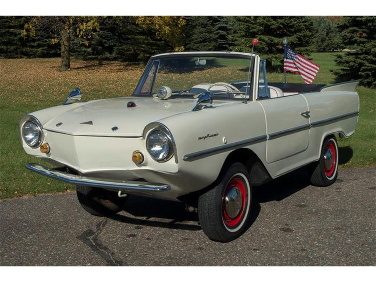 Large Picture of Classic '67 Amphicar 770 - $54,950.00 Offered by Ellingson Motorcars - M6UC