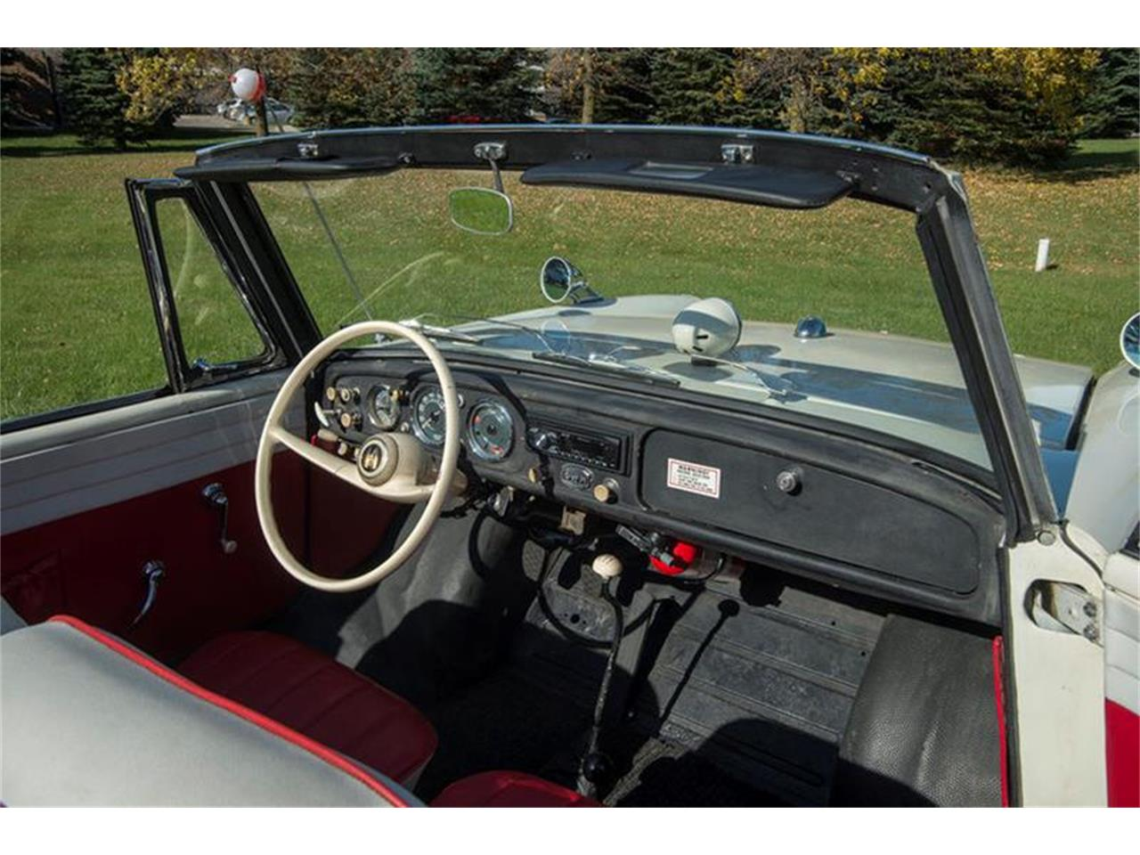 Large Picture of Classic '67 Amphicar 770 located in Minnesota - $54,950.00 Offered by Ellingson Motorcars - M6UC