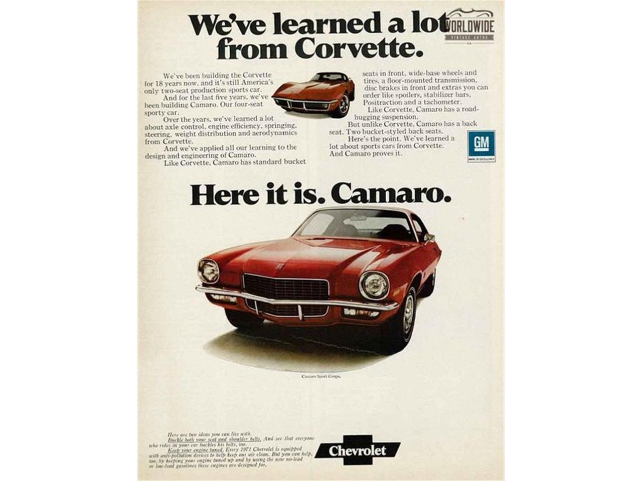 Large Picture of 1971 Chevrolet Camaro located in Colorado - $19,900.00 - M6UI
