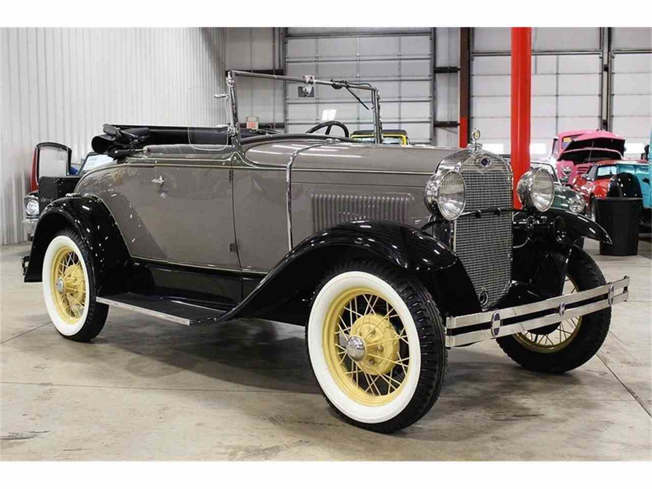 Large Picture of Classic 1930 Ford Model A located in Michigan Offered by GR Auto Gallery - M6VH