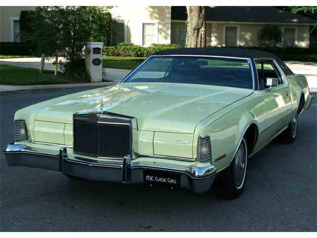 Picture of '74 Lincoln Continental Mark IV located in lakeland FLORIDA - $16,500.00 Offered by MJC Classic Cars - M6VV