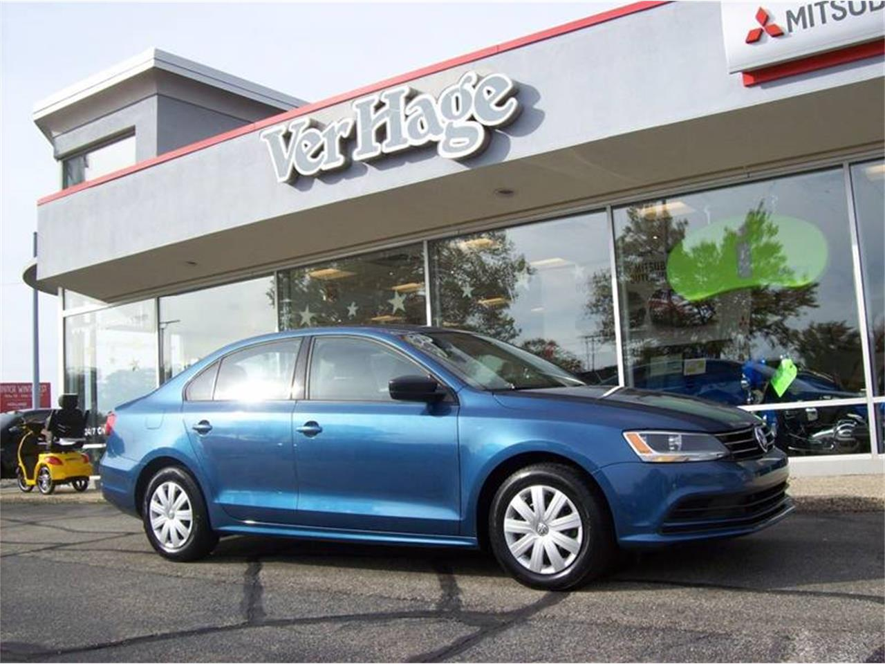 Large Picture of '15 Volkswagen Jetta located in Holland Michigan Offered by Verhage Mitsubishi - M6XO