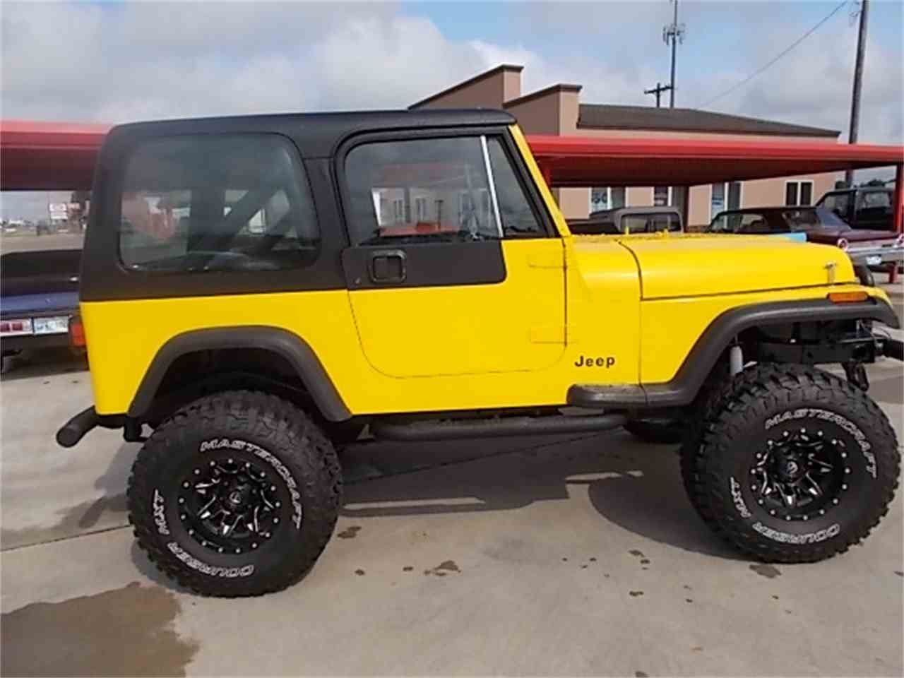 Large Picture of '90 Wrangler - M6ZY