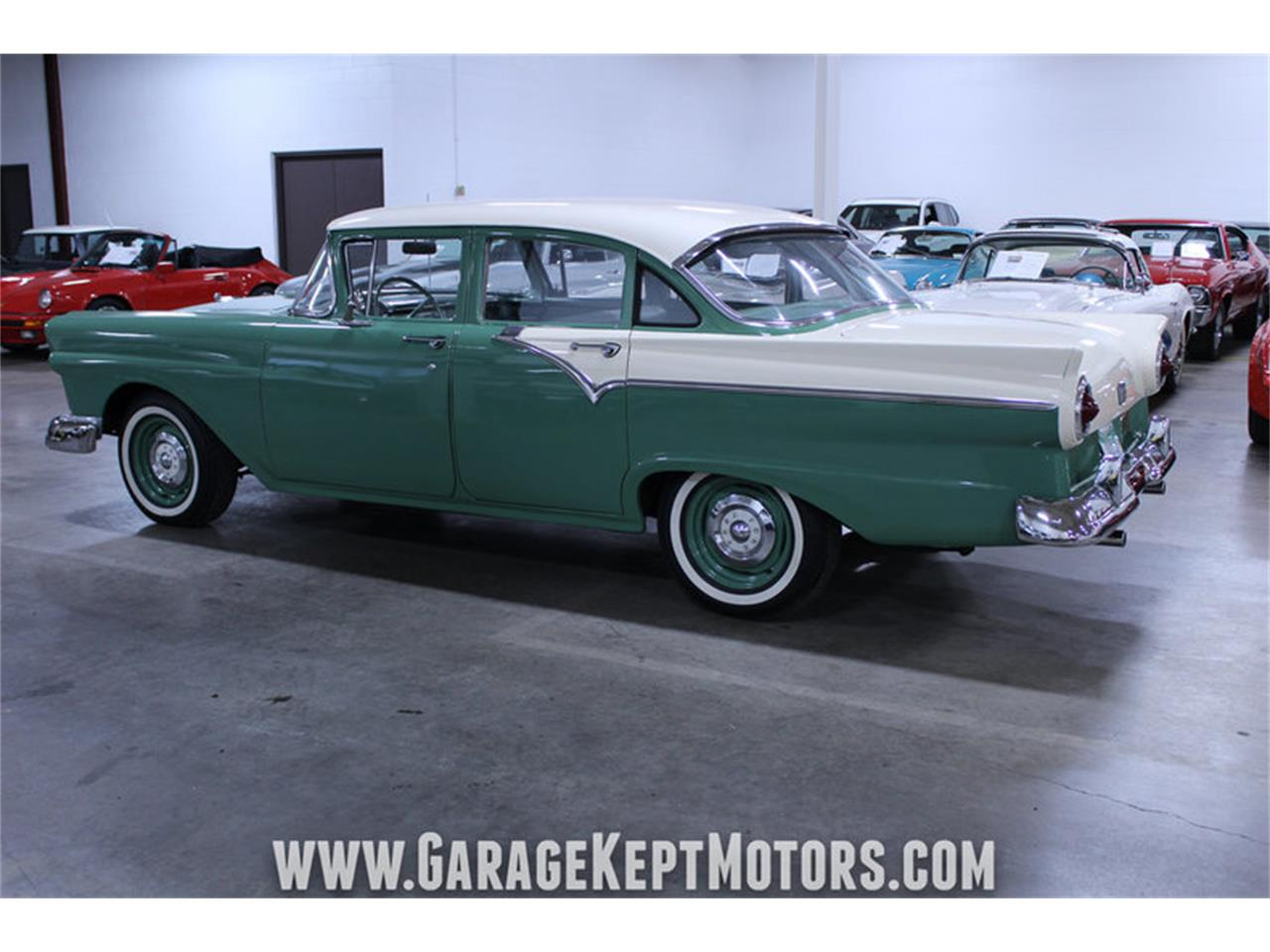 Large Picture of 1957 Ford Custom 300 located in Grand Rapids Michigan - $13,900.00 Offered by Garage Kept Motors - M72V