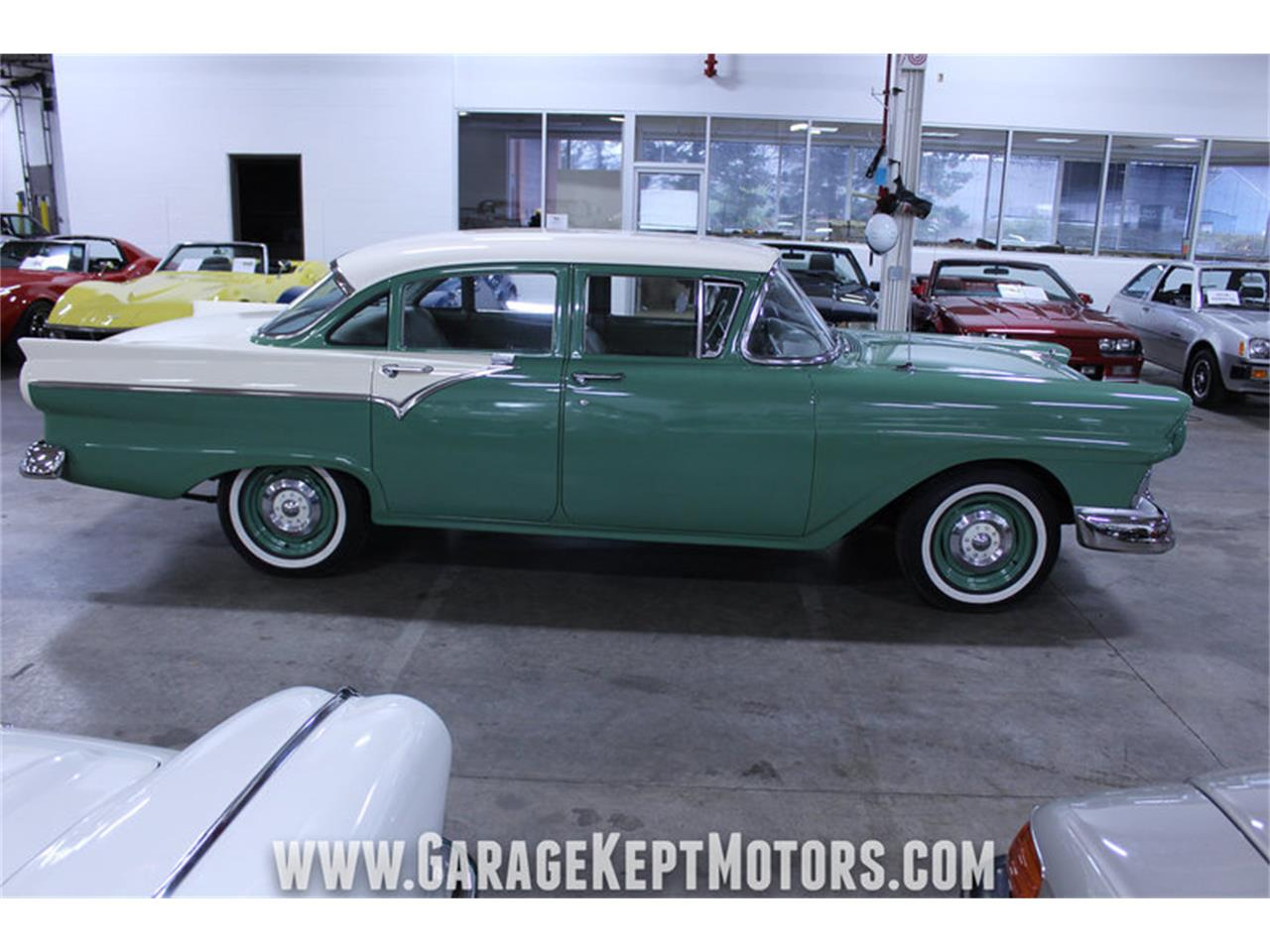 Large Picture of Classic '57 Ford Custom 300 located in Michigan - $13,900.00 Offered by Garage Kept Motors - M72V