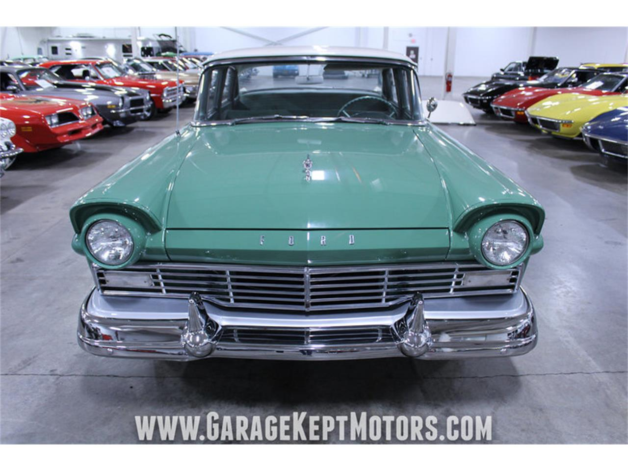 Large Picture of '57 Ford Custom 300 located in Michigan Offered by Garage Kept Motors - M72V