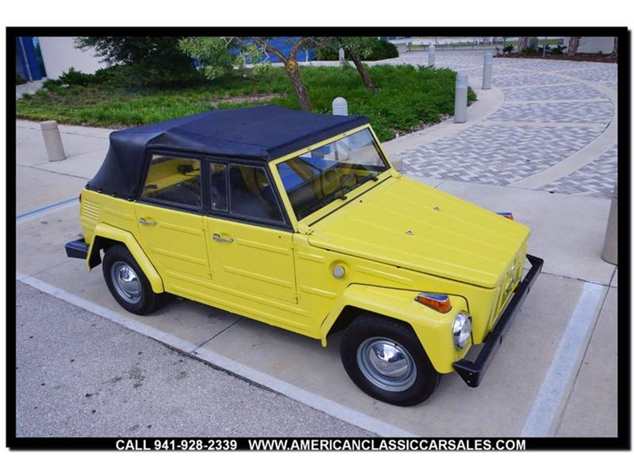 Large Picture of '73 Volkswagen Thing located in Sarasota Florida - $15,750.00 Offered by American Classic Car Sales - M74X
