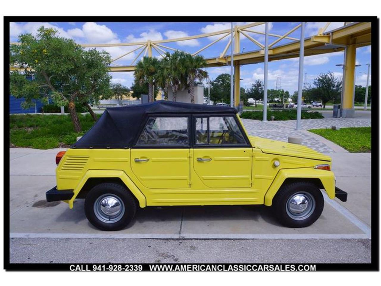 Large Picture of 1973 Volkswagen Thing located in Sarasota Florida - M74X