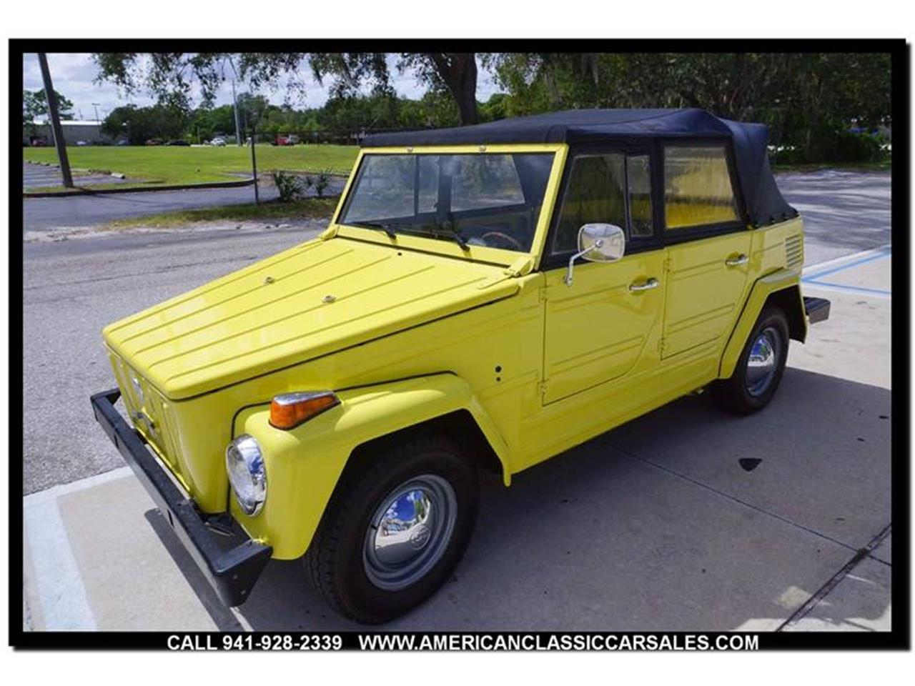 Large Picture of Classic '73 Volkswagen Thing - $15,750.00 Offered by American Classic Car Sales - M74X