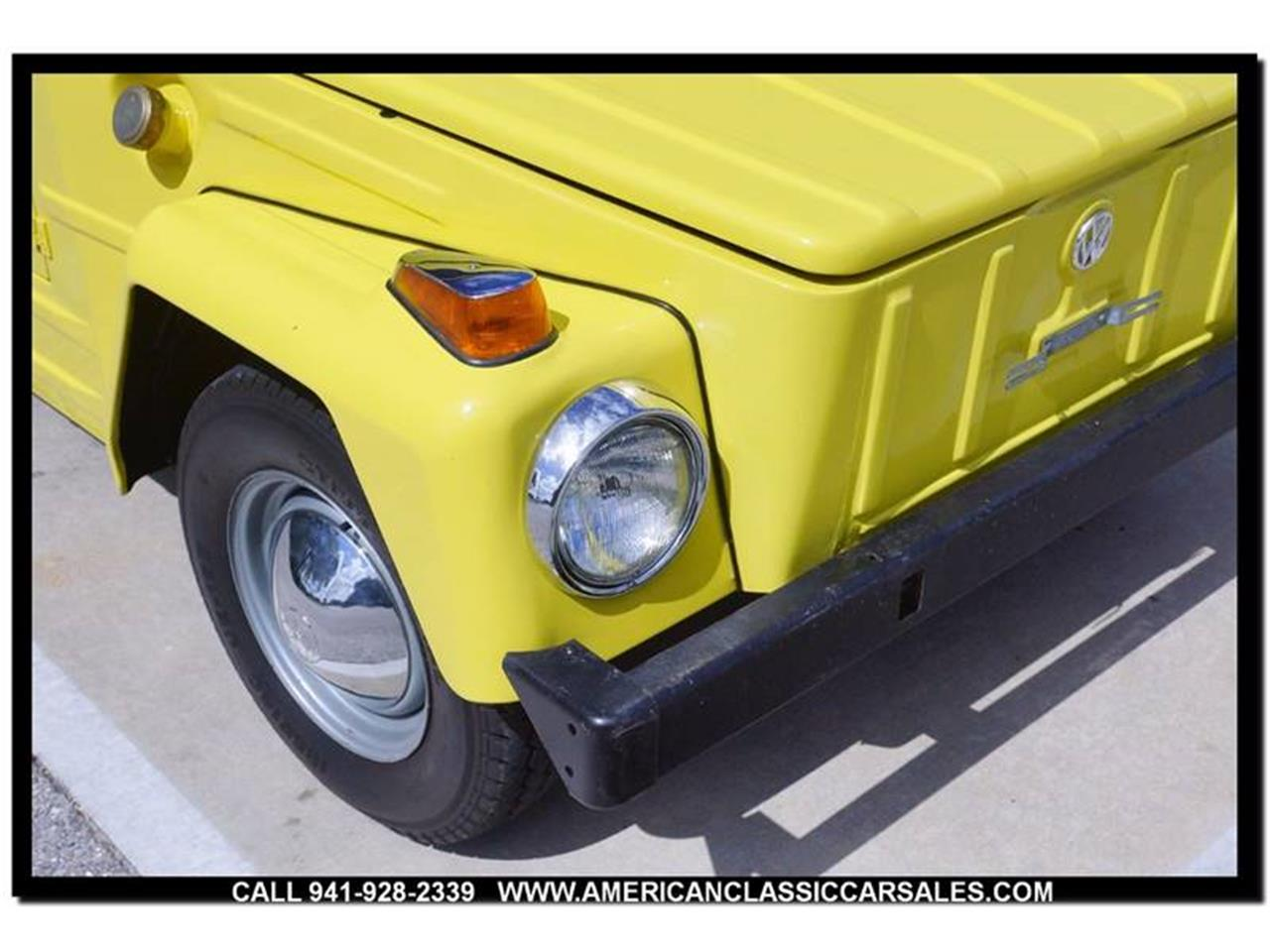 Large Picture of Classic 1973 Volkswagen Thing - $15,750.00 Offered by American Classic Car Sales - M74X