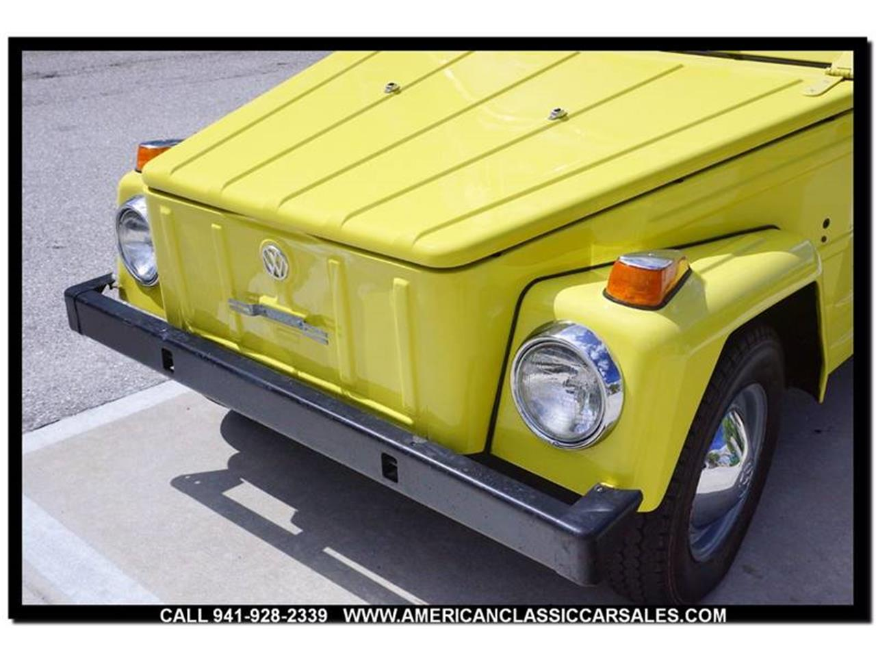 Large Picture of '73 Volkswagen Thing Offered by American Classic Car Sales - M74X
