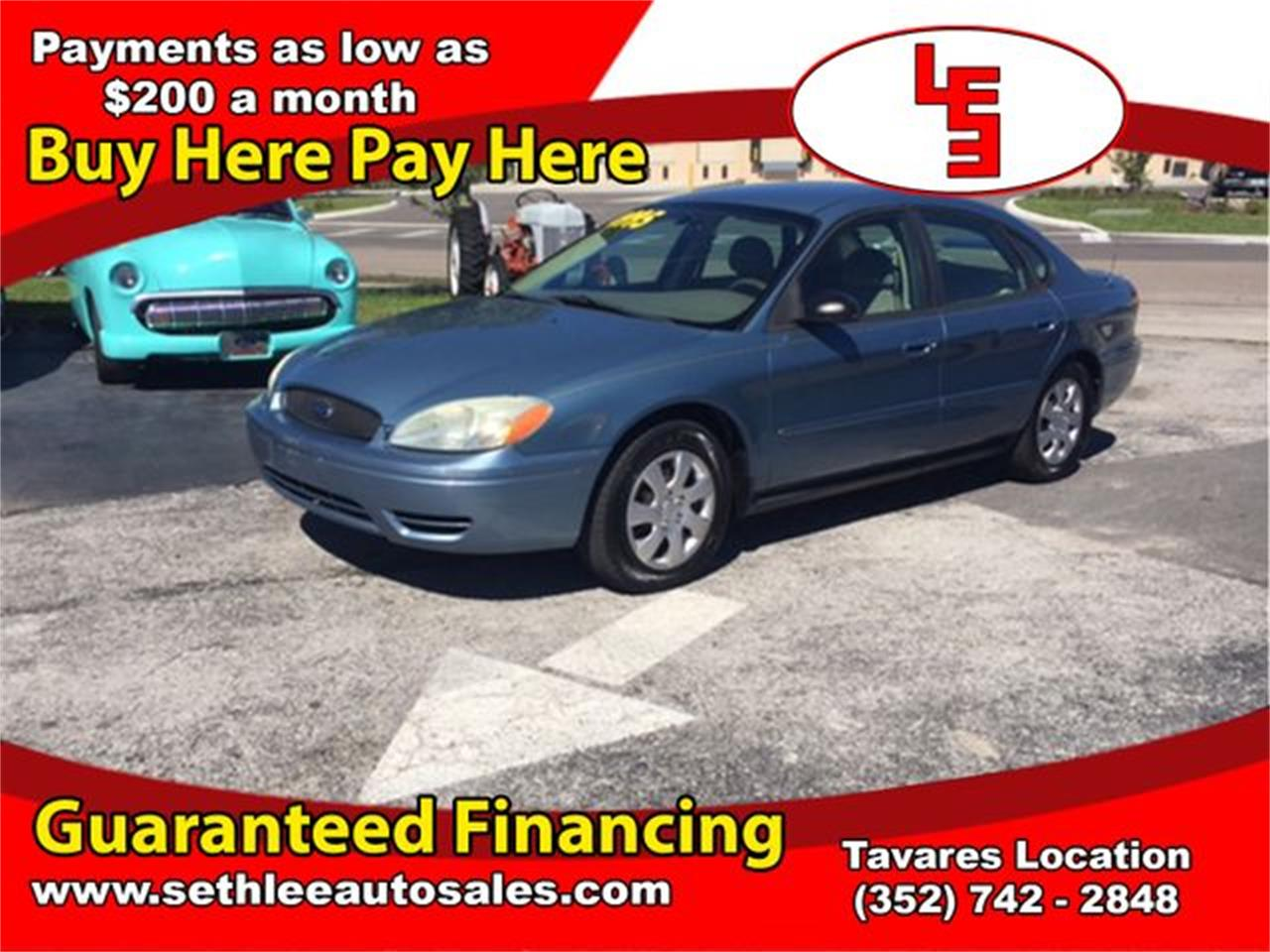 Large Picture of 2007 Ford Taurus located in Tavares Florida - $3,695.00 Offered by Seth Lee Auto Sales - M75N