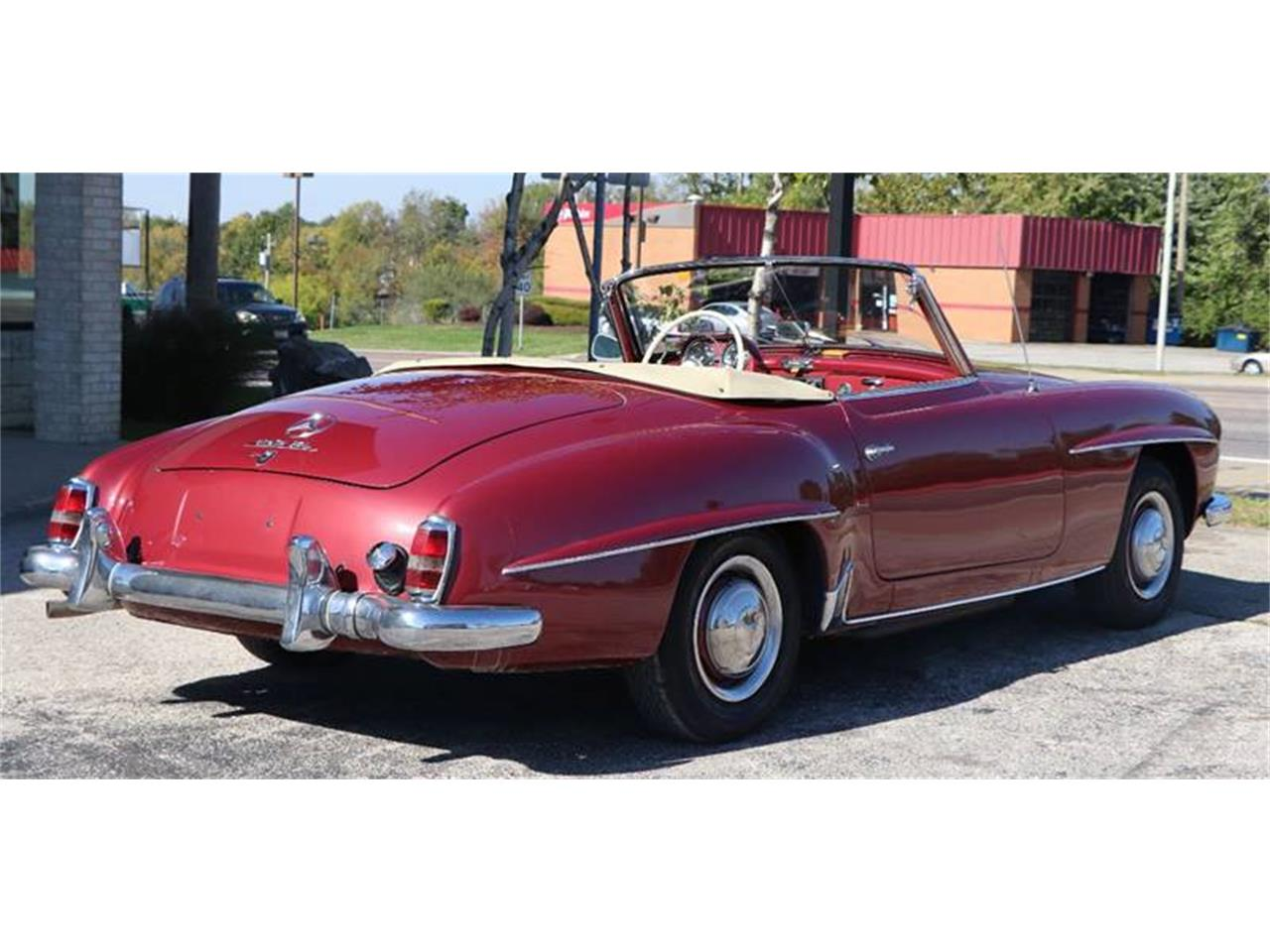 Large Picture of Classic 1958 190SL Offered by It's Alive Automotive - M75Y