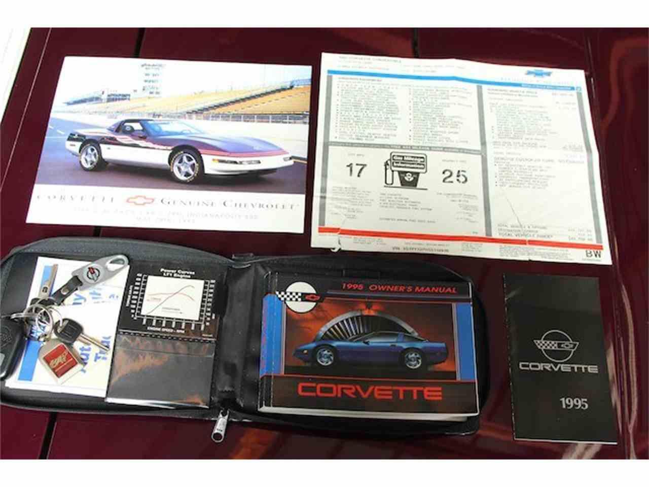 Large Picture of '95 Corvette - M760
