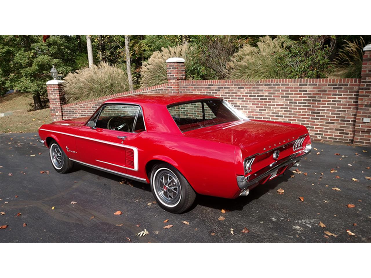 Large Picture of Classic 1967 Mustang located in Huntingtown Maryland Offered by Old Town Automobile - M763