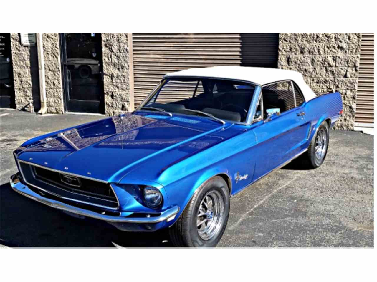 Large Picture of '68 Mustang - M786