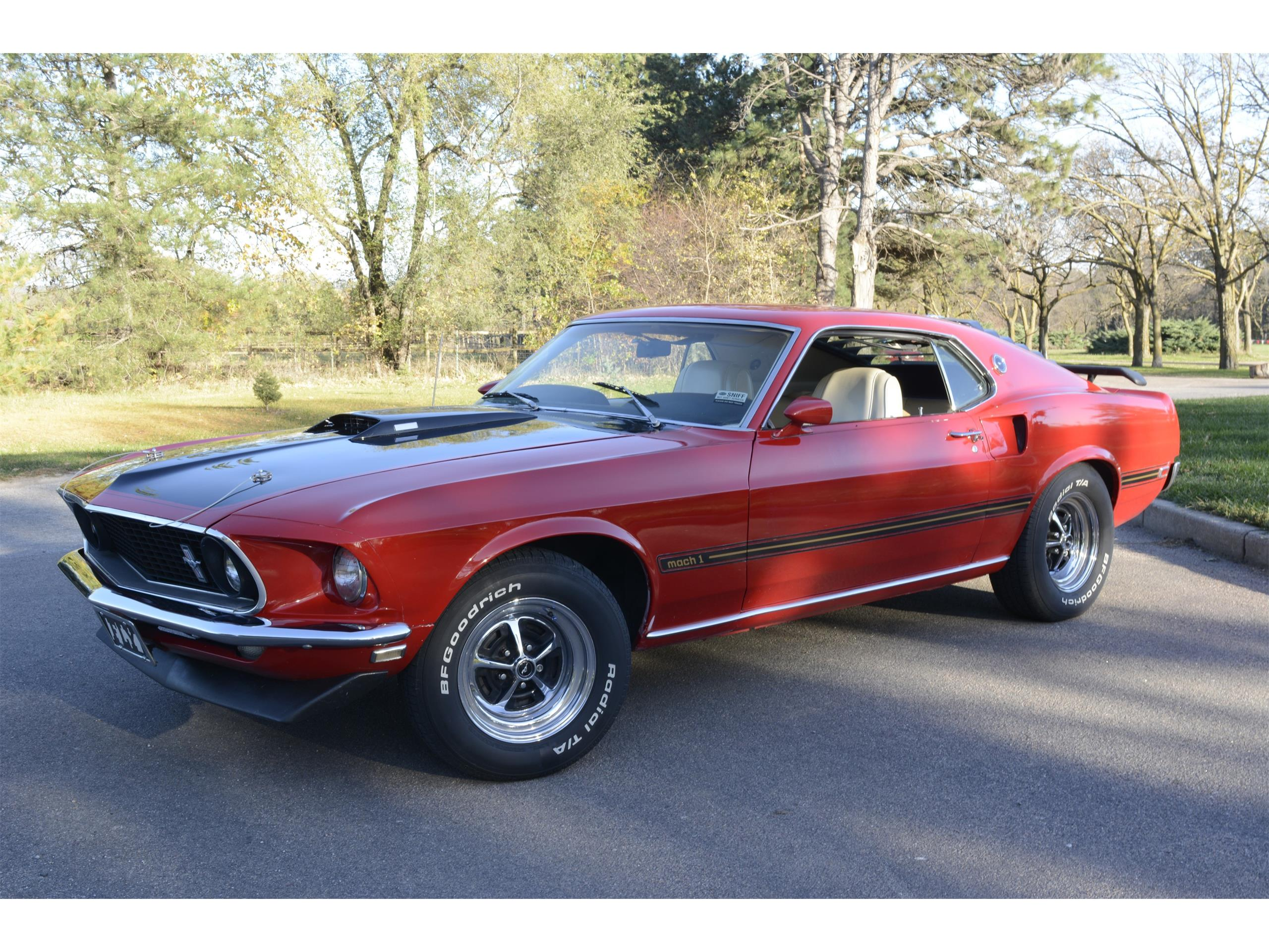 1969 Ford Mustang Mach 1 for Sale | ClassicCars.com | CC-1035809