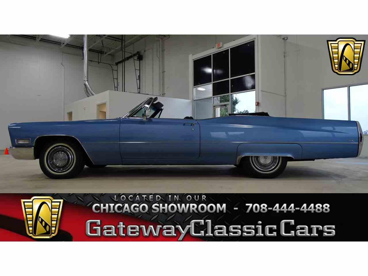 1968 Cadillac DeVille for Sale | ClassicCars.com | CC-1035835