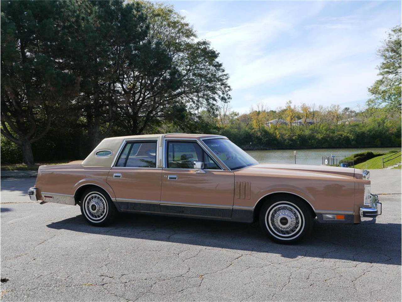 Large Picture of 1983 Lincoln Continental Mark VI located in Illinois Offered by Midwest Car Exchange - M7E3