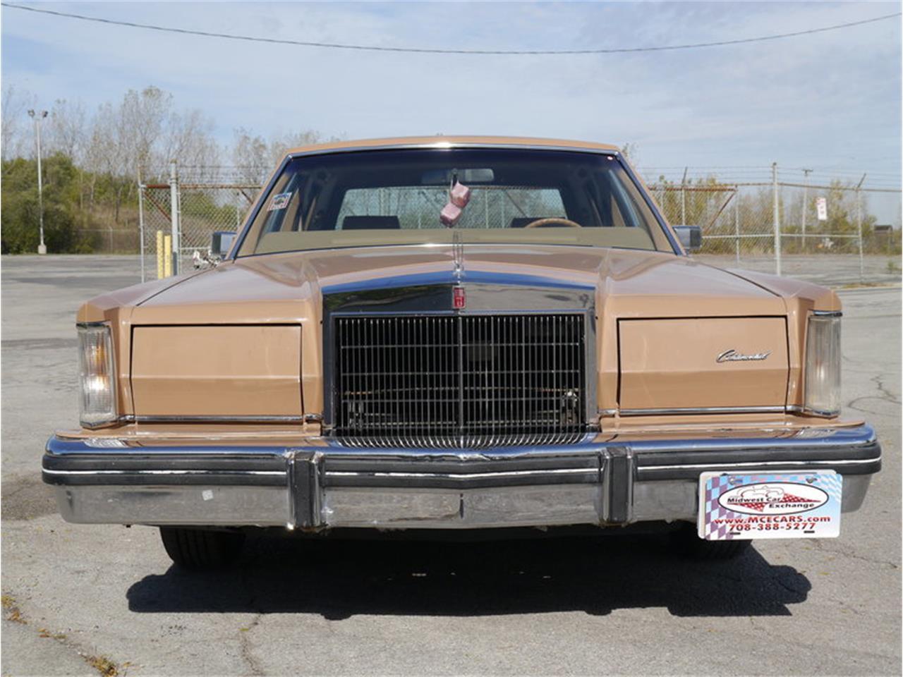 Large Picture of '83 Continental Mark VI located in Alsip Illinois - M7E3