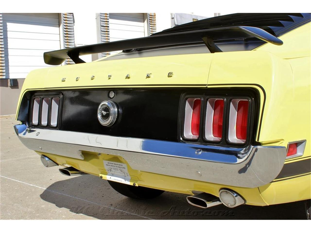 Large Picture of 1970 Ford Mustang Boss 302 located in Lenexa Kansas Offered by KC Classic Auto - M7FD