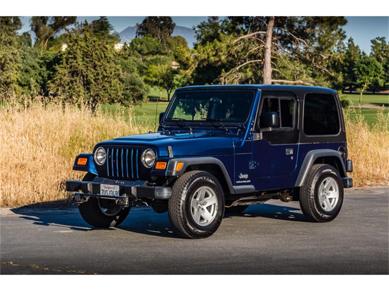 03 Jeep Wrangler Us Cars