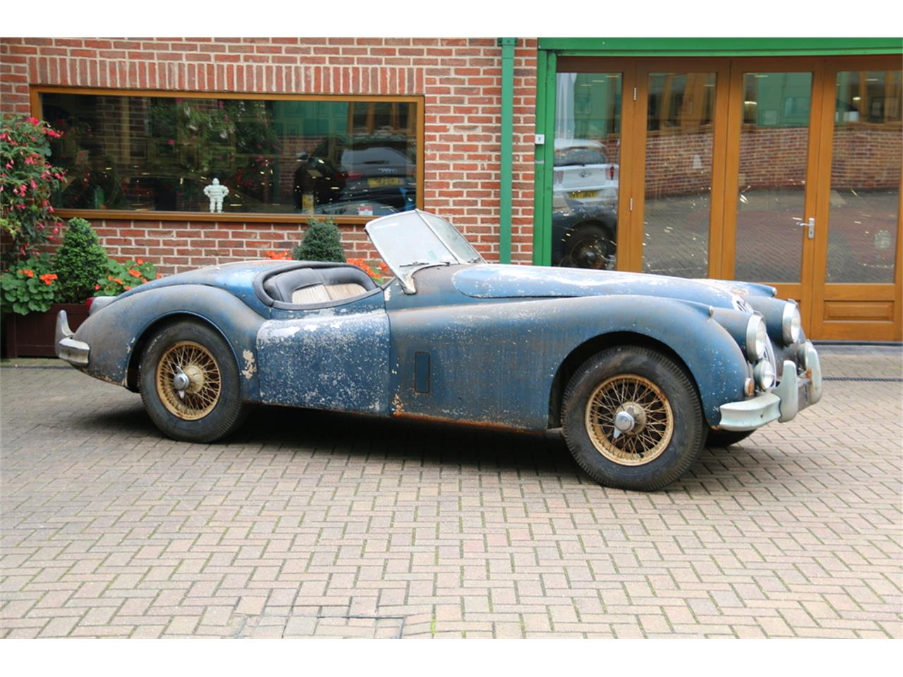 Large Picture of '56 Jaguar XK140 located in  Auction Vehicle Offered by JD Classics LTD - M7HS