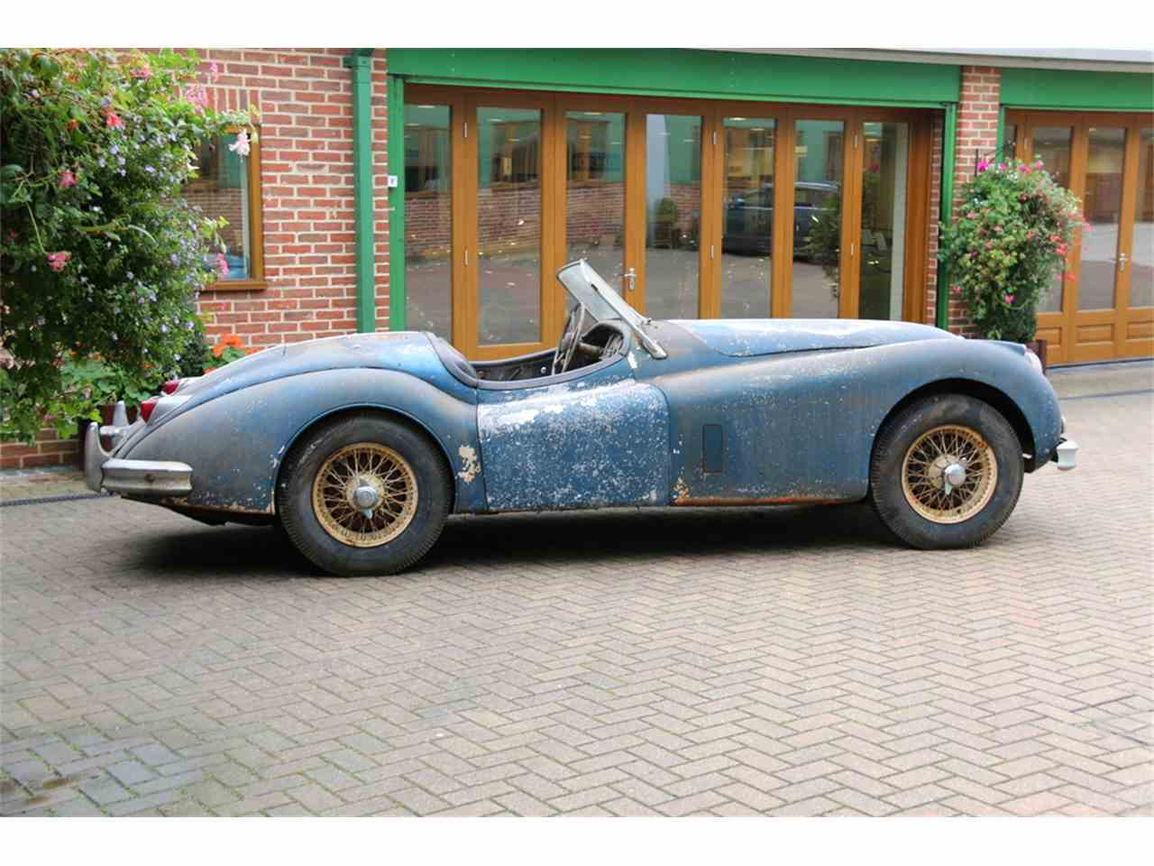 Large Picture of Classic 1956 XK140 Auction Vehicle Offered by JD Classics LTD - M7HS