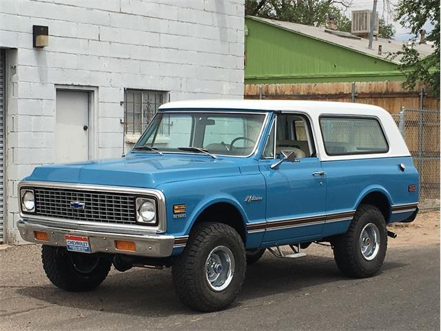 1970 To 1972 Chevrolet Blazer For Sale On Classiccars Com