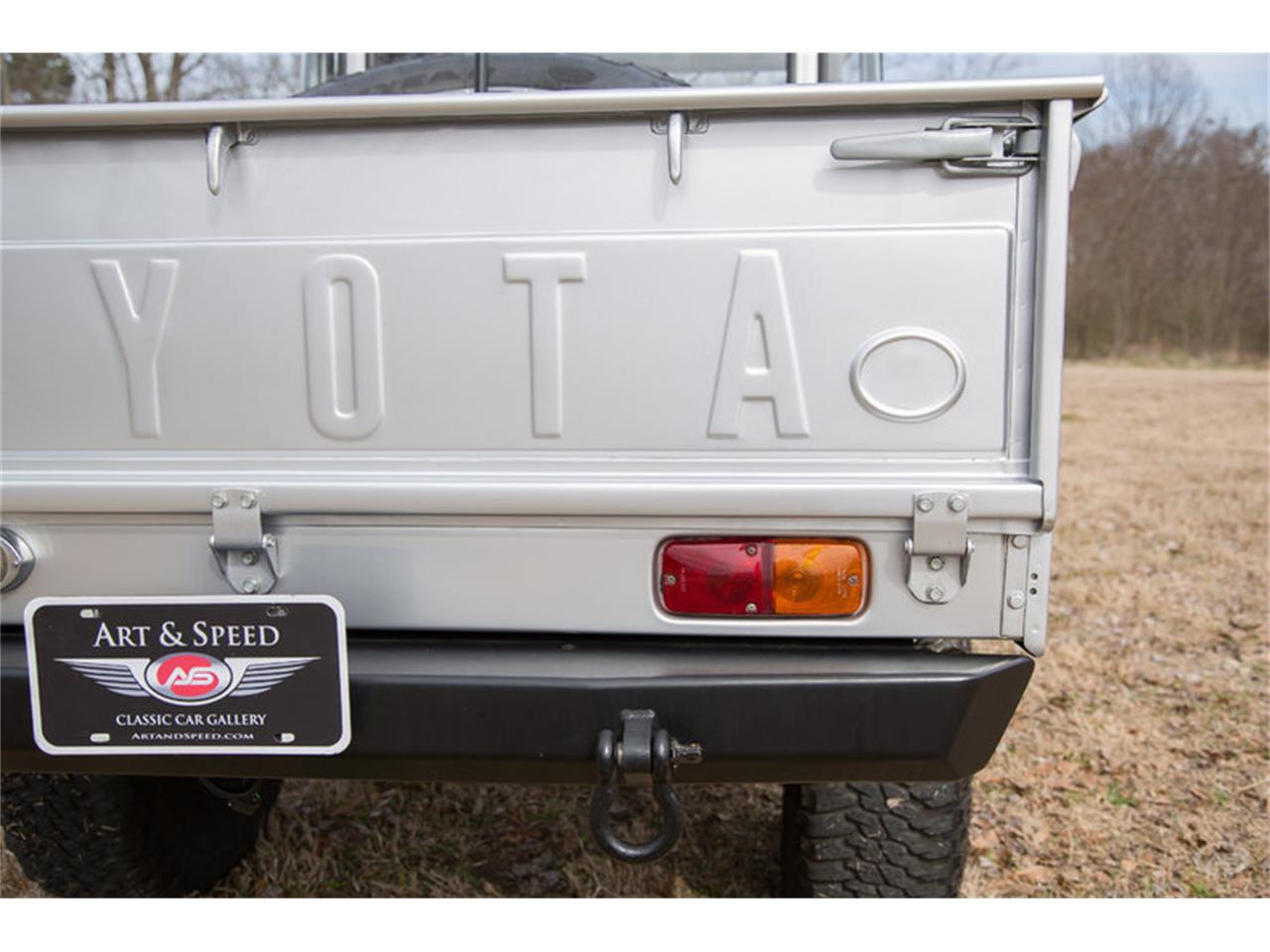 Large Picture of Classic '65 Toyota Land Cruiser FJ45 Pickup located in Tennessee Offered by Art & Speed - M389