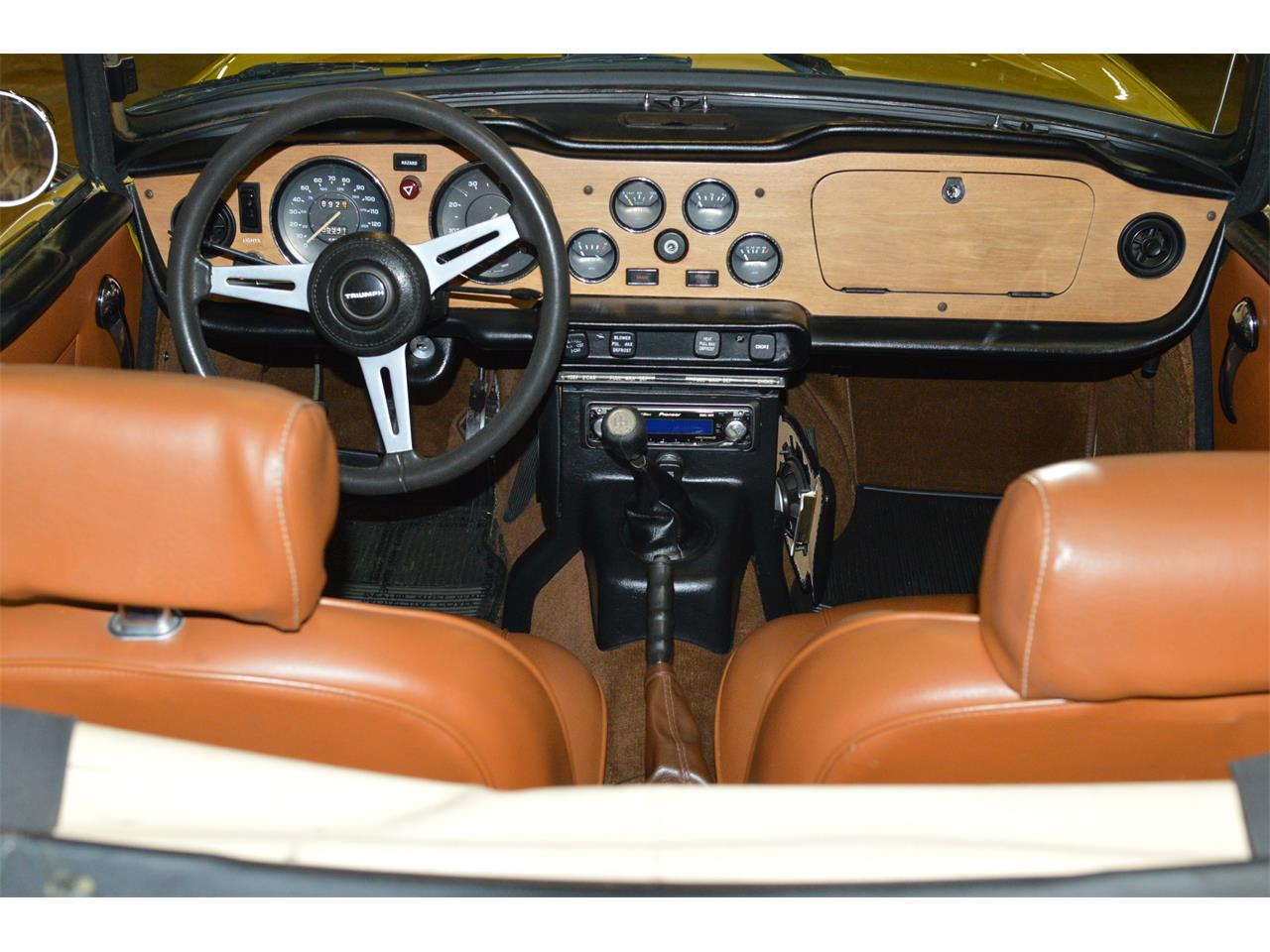 Large Picture of '73 TR6 - M7NO