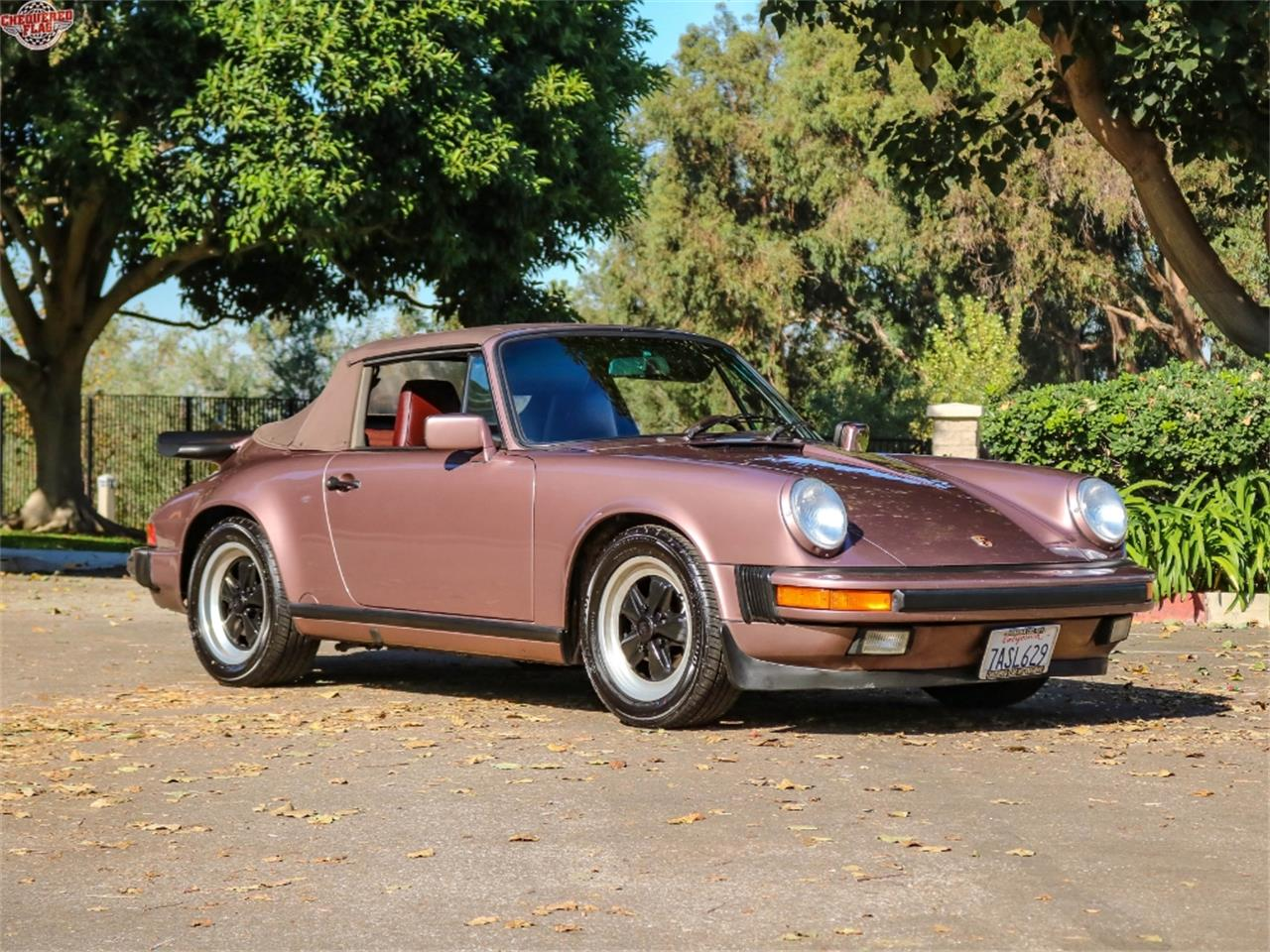 Large Picture of '87 Porsche 911 located in Marina Del Rey California Offered by Chequered Flag International - M7SG