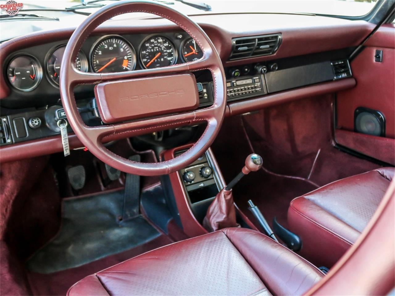 Large Picture of 1987 Porsche 911 located in Marina Del Rey California - $53,500.00 Offered by Chequered Flag International - M7SG