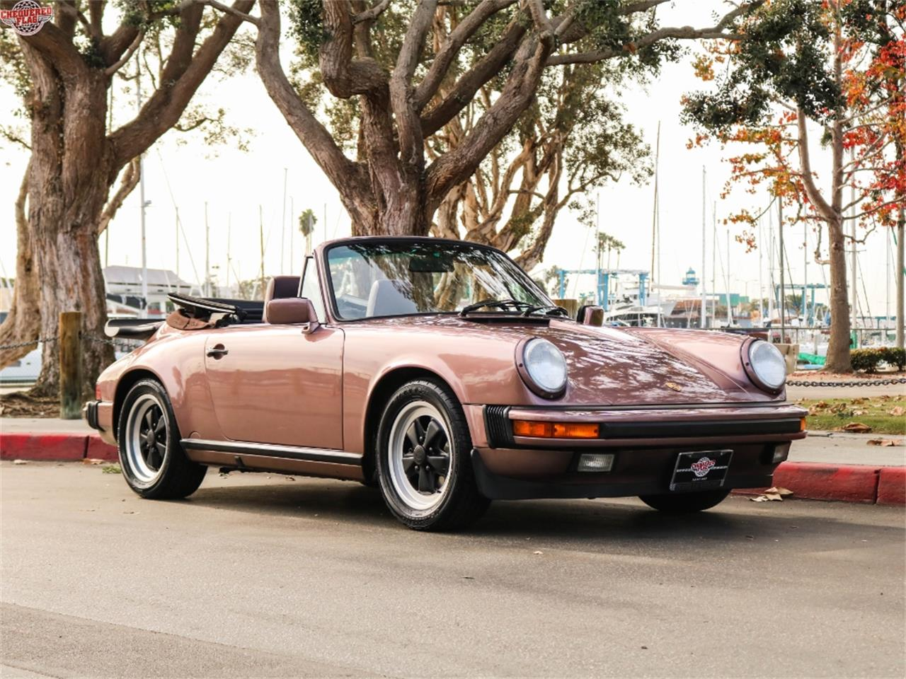 Large Picture of '87 911 located in Marina Del Rey California Offered by Chequered Flag International - M7SG