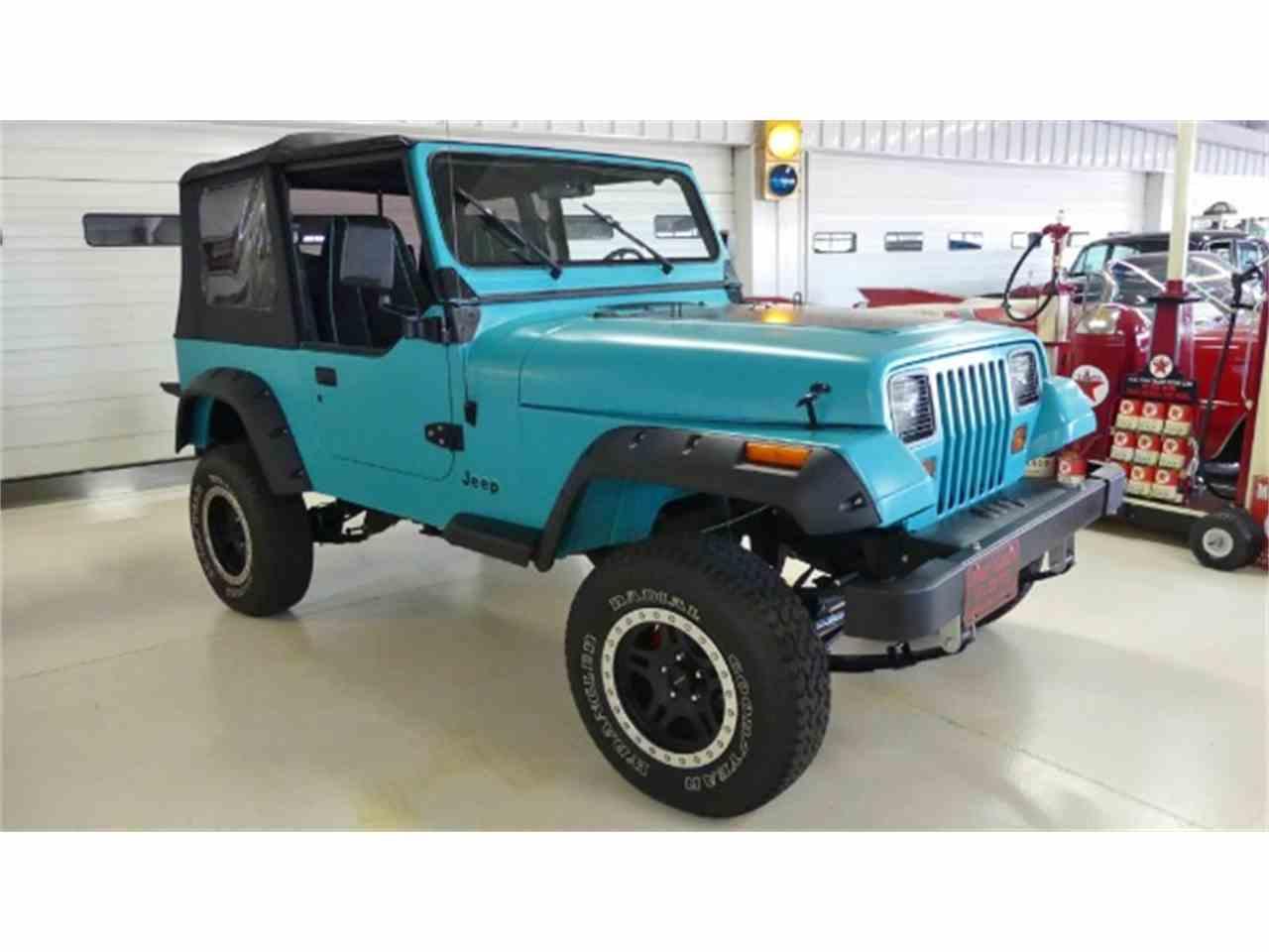 1993 jeep wrangler for sale cc 1036542. Black Bedroom Furniture Sets. Home Design Ideas