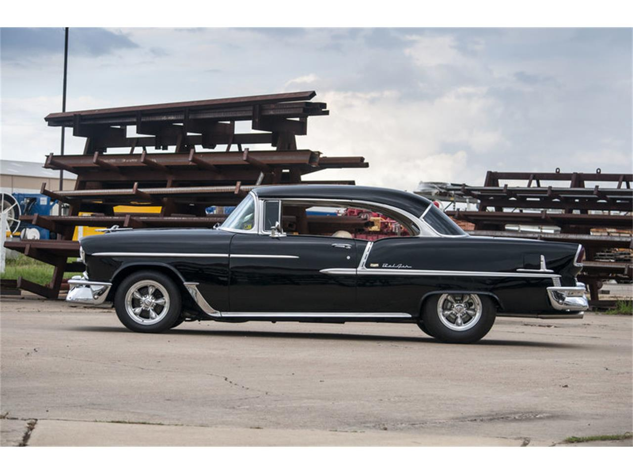 Large Picture of Classic '55 Chevrolet Bel Air located in Texas Offered by Frank's Car Barn - M7W0