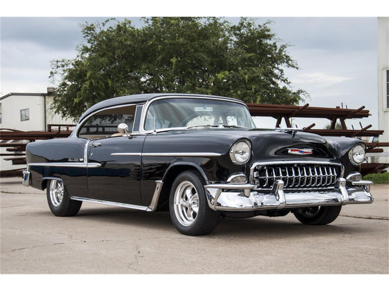 Large Picture of Classic '55 Bel Air located in Houston Texas Offered by Frank's Car Barn - M7W0