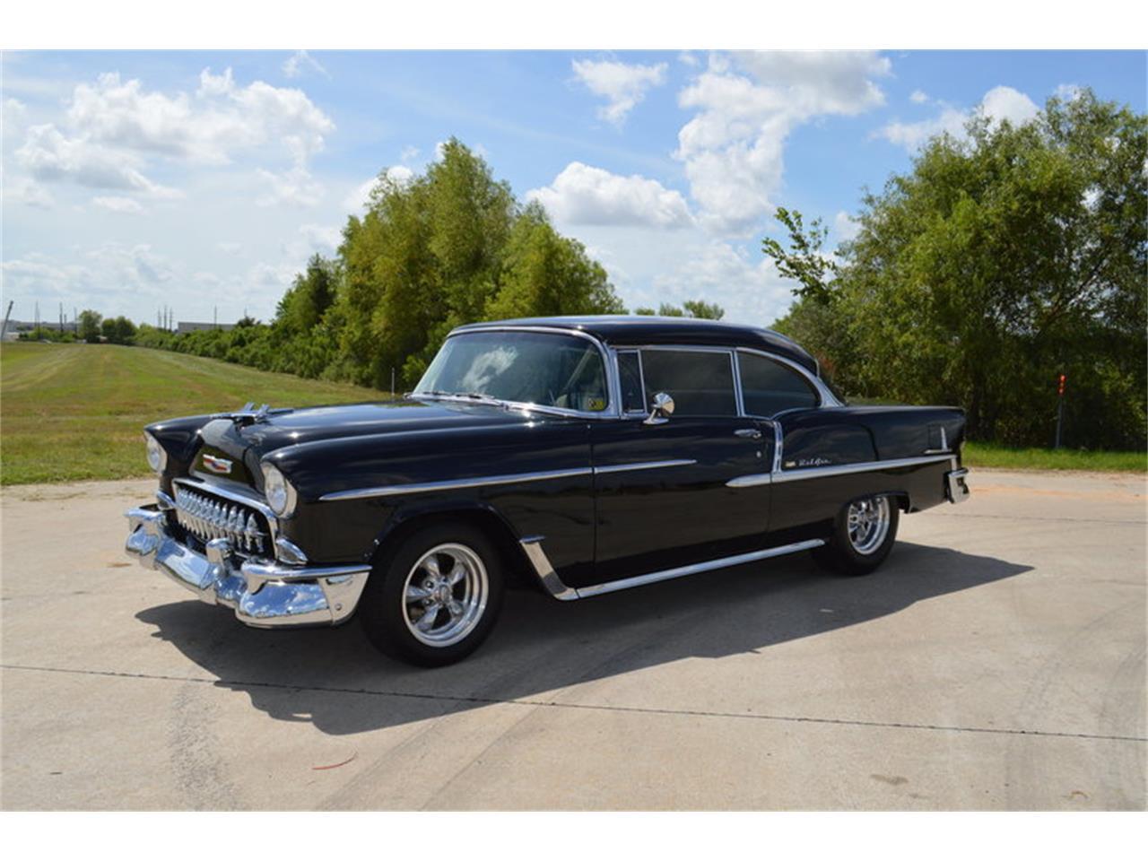 Large Picture of '55 Bel Air located in Houston Texas Offered by Frank's Car Barn - M7W0