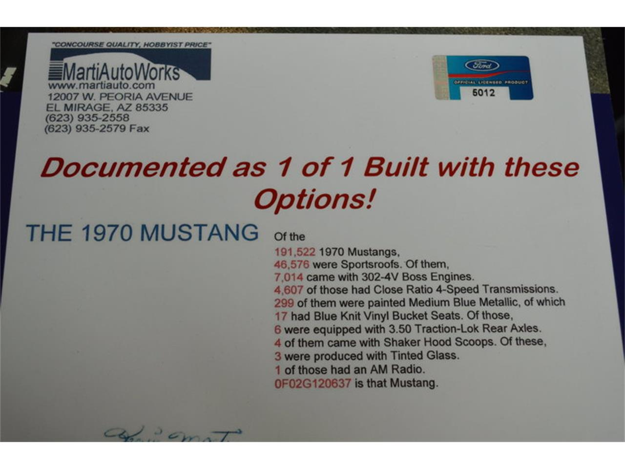 Large Picture of Classic '70 Mustang located in Texas - $122,500.00 - M7WN