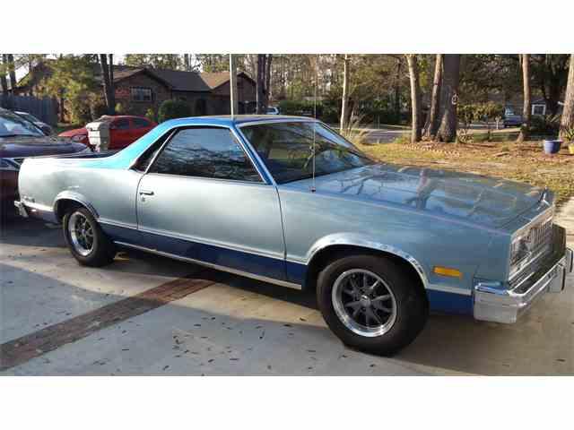 1985 Chevrolet El Camino For Sale On