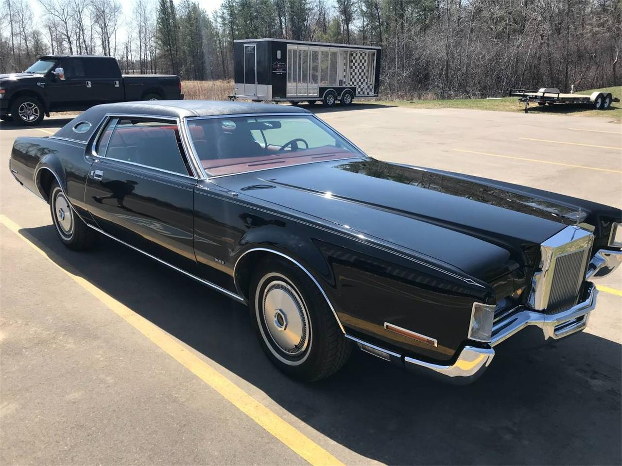 Large Picture of '72 Lincoln Continental located in Brainerd Minnesota Offered by High Rollers Hot Rods and Classics - M7ZR