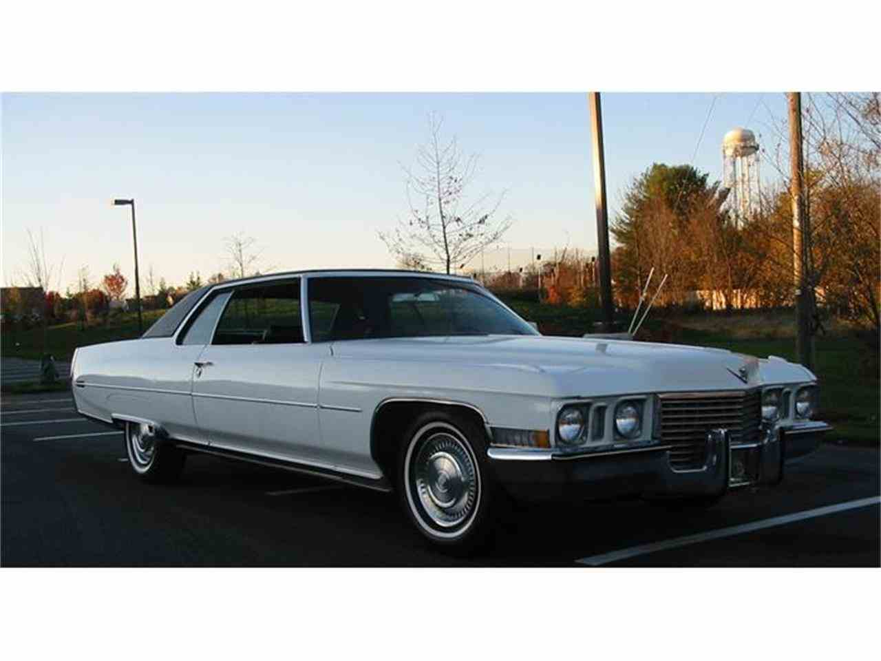 1972 Cadillac Coupe DeVille for Sale | ClicCars.com | CC-1036861