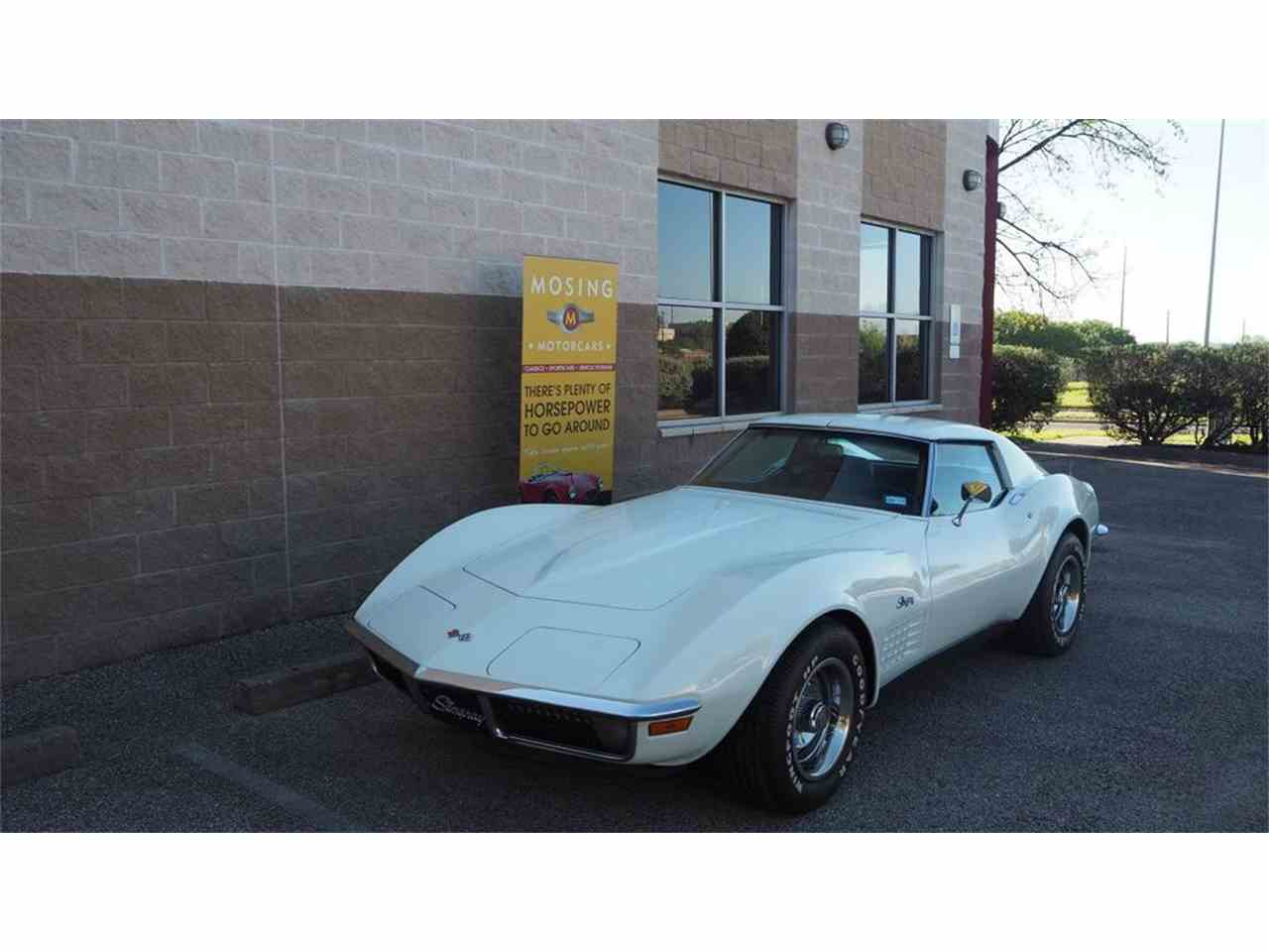 Large Picture of '71 Corvette located in Texas Offered by Mosing Motorcars - M86F