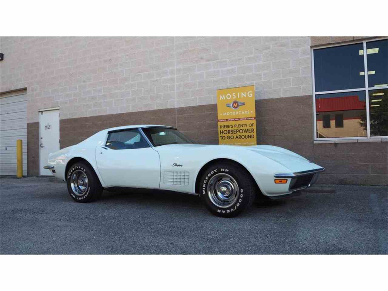 Large Picture of '71 Corvette located in Austin Texas Offered by Mosing Motorcars - M86F