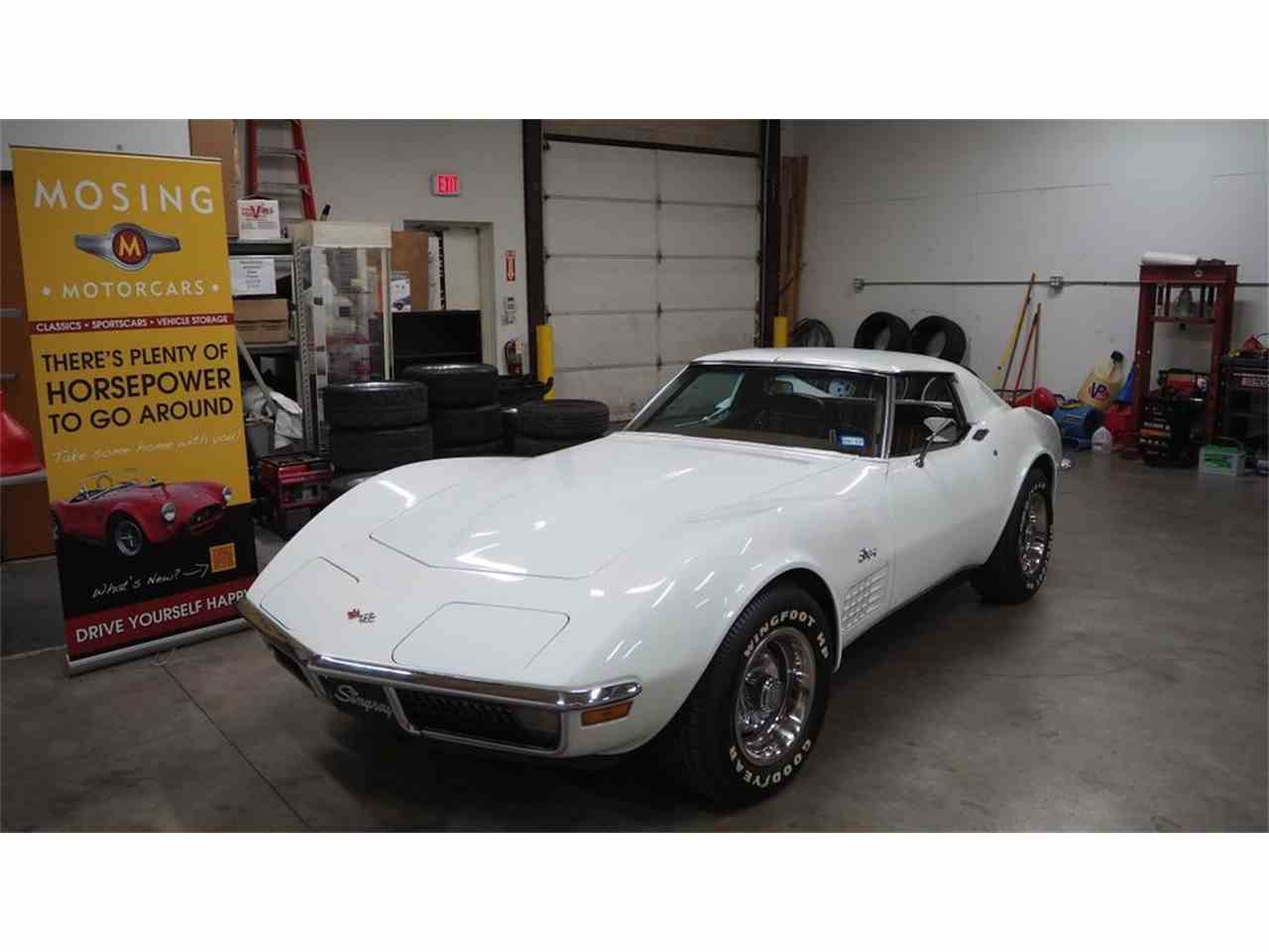 Large Picture of '71 Chevrolet Corvette Offered by Mosing Motorcars - M86F