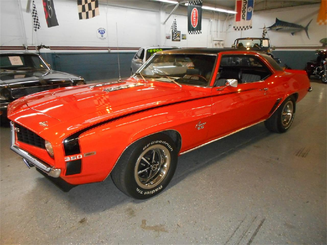 1969 chevrolet camaro for sale cc 1037063. Black Bedroom Furniture Sets. Home Design Ideas
